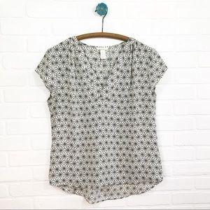 H&m geometric blouse